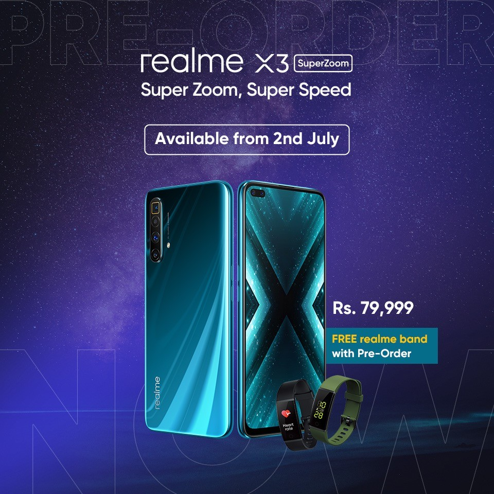 Realme S Flagship Device Realme X3 Superzoom Launched In Pakistan