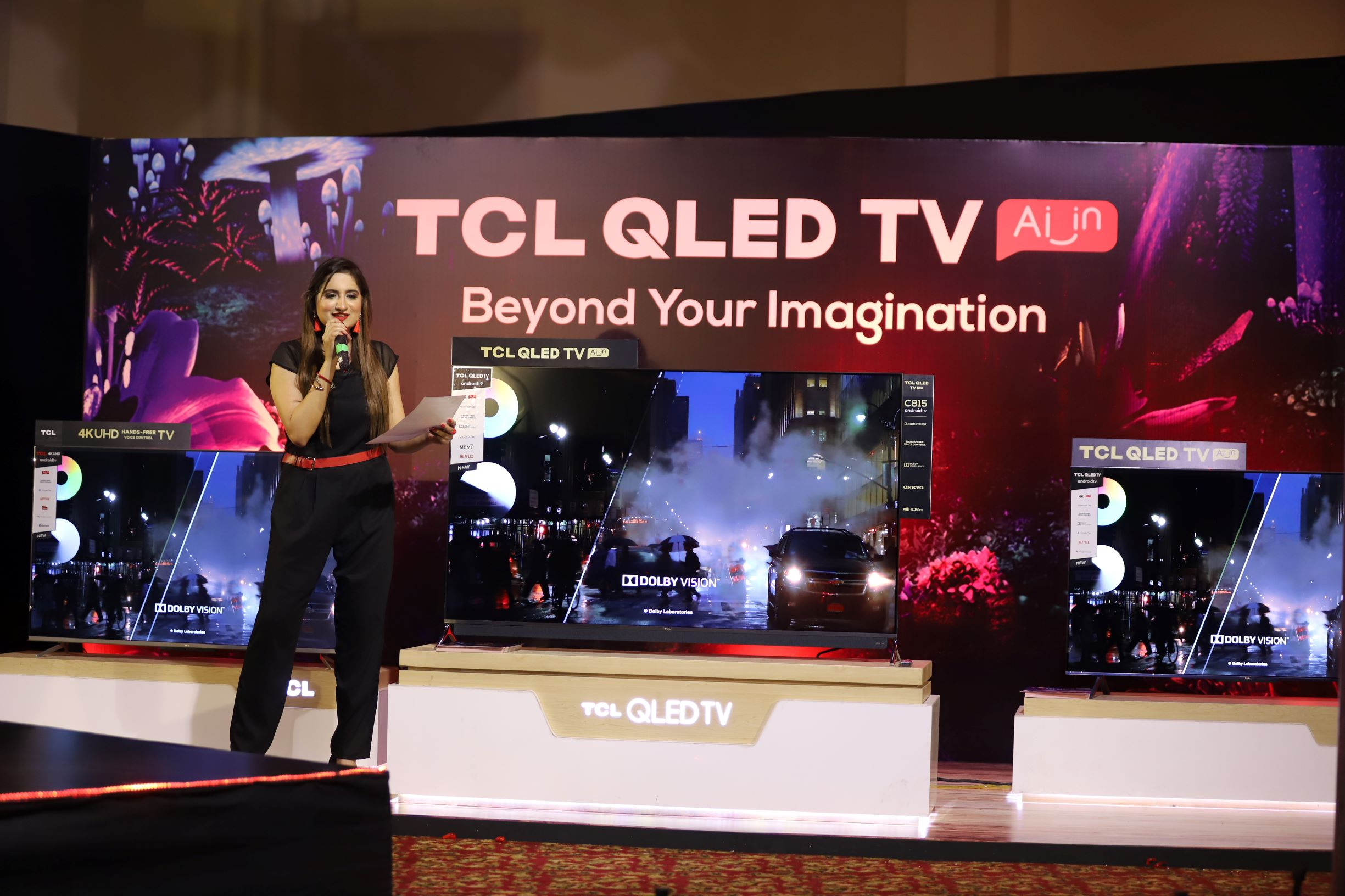 TCL Pakistan Debuts an Expanded Range of QLED TVs Featuring Quantum Dot120hz Display and Hands-Free Voice Control